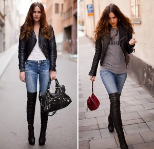 Over The Knee Boot - Weekend