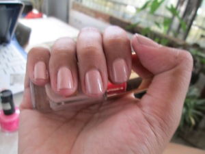 Nails with Oriflame More By Demi in Tea Rose
