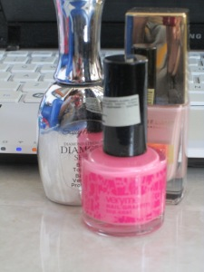 Oriflame Cracked Nail Polished