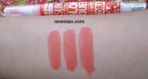 Skin Food Vita Color Lip Lacquer Hand Swatch