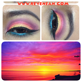 Sunrise Look Inspired collage