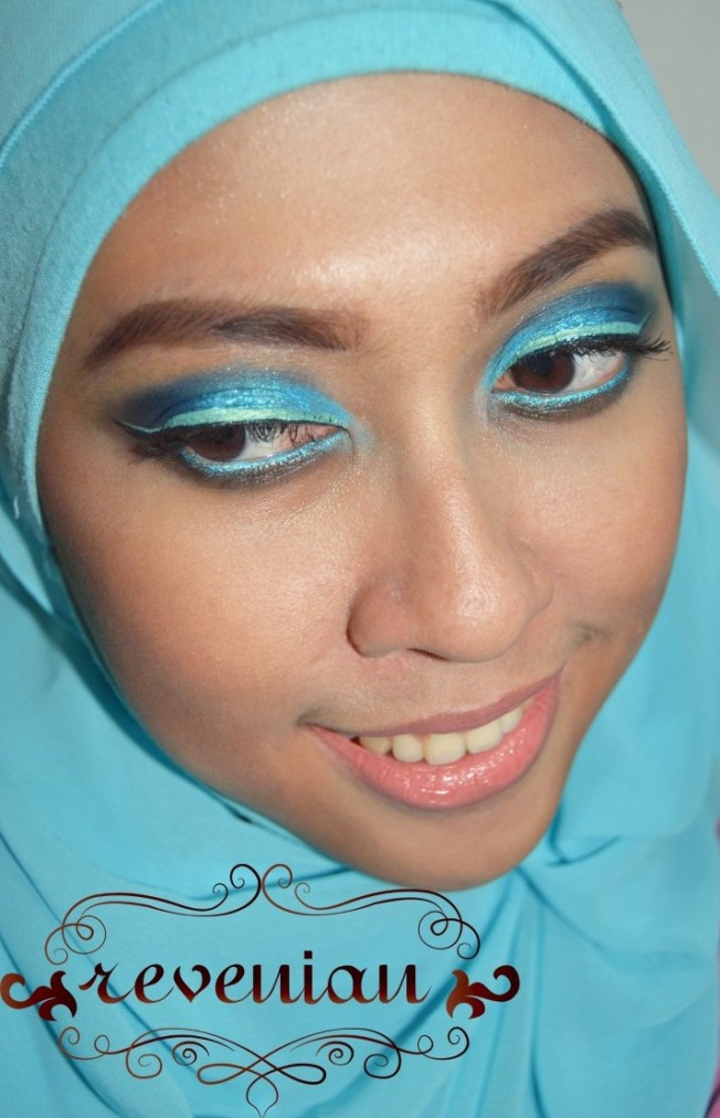 [Collaboration] Teal Me More Make Up | FIAREVENIAN