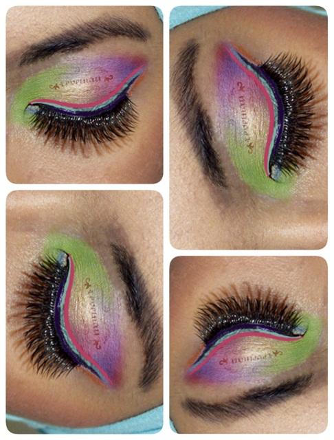 Summer Eyes Collaged