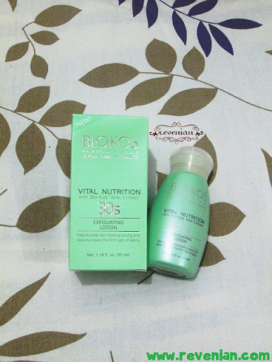 Biokos Exfoliating Lotion - Packaging