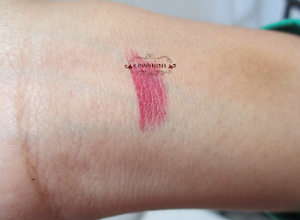 Make Over Raisin Plum hand swatch