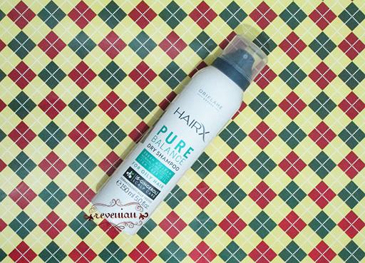 Hair Section - Oriflame Hair X Dry Shampoo