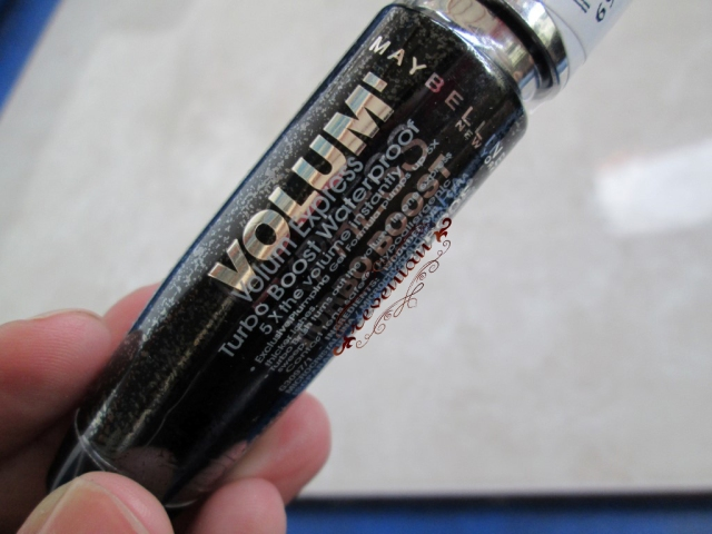 Original Maybelline Mascara with ingredients list