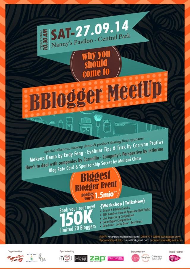 BBloger MeetUp poster